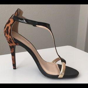 Anne Michelle Shoes - Anne Michelle Strap Heeled Sandals