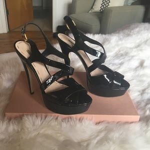 Miu miu patent leather heels - size 39