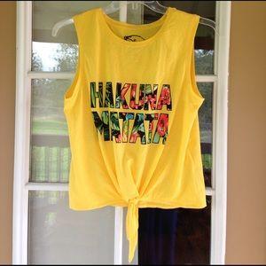 Disney Tops - Hakuna Matata Tank Top