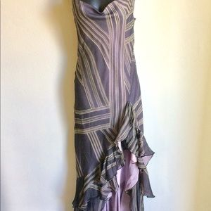 BCBGMAXAZRIA Spaghetti strap dress