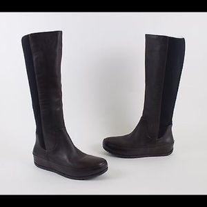Fitflop Tall Black Boots