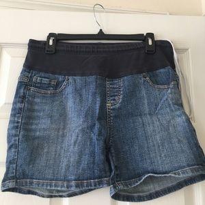 american star Pants - Maternity denim shorts