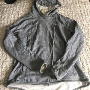 Puma Jackets & Blazers - Puma Cotton Asymmetrical Long Sleeve Hoodie