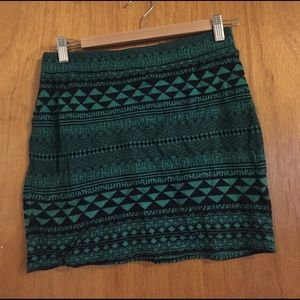 Urban outfitters Knit mini skirt