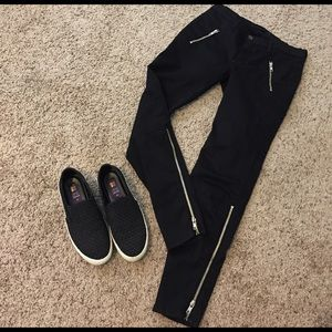 J Brand Denim - Black skinny jeans .