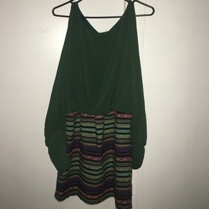 Green cocktail dress!