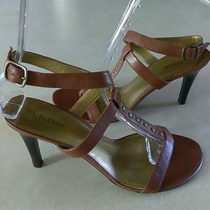 Kelly & Katie Shoes - 🆕WOT Kelly & Kathie Ankle Wrap Studded Sandals