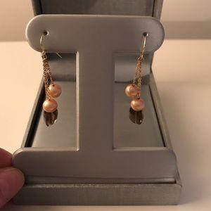 Zales Jewelry - Freshwater Pearl 14K Gold Drop Earrings