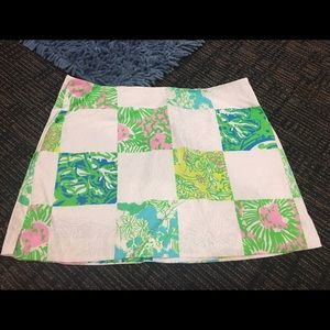 Lilly Pulitzer Dresses & Skirts - TAKING OFFERS Sz 2 Lilly Pulitzer patchwork skirt