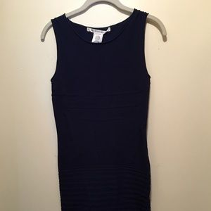 LAST CALL! Max Studio Navy Bandage-style Dress