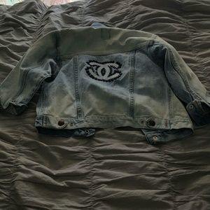 Old Navy Other - Custom denim jacket