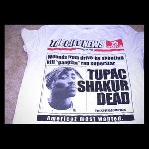 21men Tops - Tupac Shakur T-Shirt