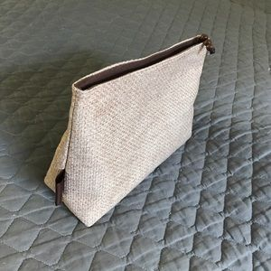 Other - Woven Makeup Bag