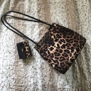 Nine West Handbags - 🆕 Nine West Leopard Purse&Wallet