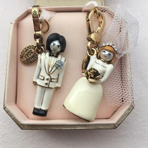 Juicy Couture Jewelry - Juicy Couture Limited Edition Wedding Charms