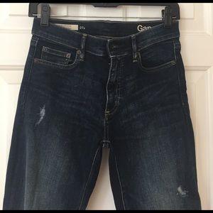 GAP Resolution True Skinny Distressed Jeans
