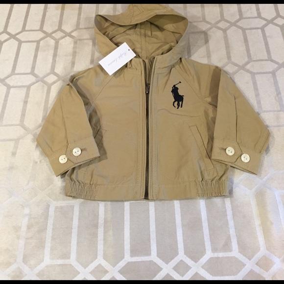 sale online new arrivals later Ralph Lauren Lightweight Baby Boy Jacket - NWT! NWT