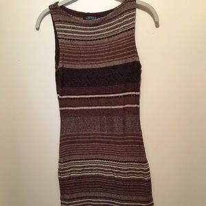 LAST CALL! Ralph Lauren Linen Striped Dress