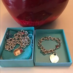 Tiffany & Co. Jewelry - Authentic tiffany set necklace and breclet