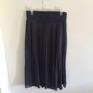 wilfred Dresses & Skirts - Silky Pleated Midi Skirt