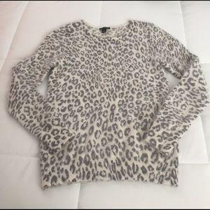 Ann Taylor Sweaters - Ann Taylor Animal Print Sweater