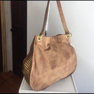 Stella & Jamie Handbags - NWT Stella & Jamie soft light brown leather bag