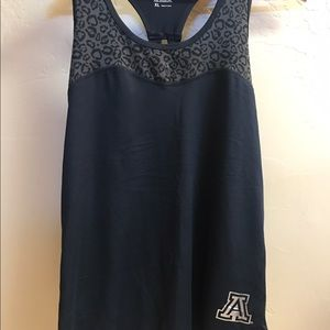 Colosseum Tops - U of A Racerback Tank Top size XL