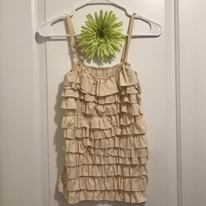 Poof! Tops - Tank top with ruffled layers
