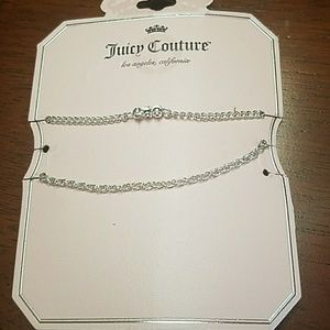 Juicy Couture Jewelry - New juicy couture 2 double bracelets