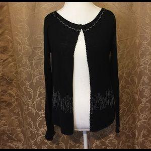 Moschino Sweaters - Moschino Beaded top button sweater