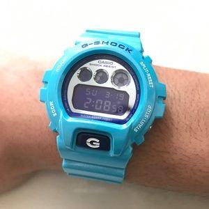 G-Shock Other - Casio G-Shock Blue Turquoise Metallic Mirror Watch