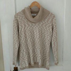 Calvin Klein Sweaters - Cowl Neck Cozy Tunic Sweater