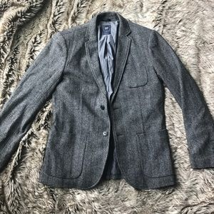 GAP Other - Gap Men's Grey Tweed Wool Blazer