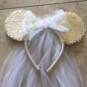 Minnie Mouse Bridal Ears