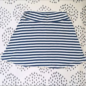 Merona Dresses & Skirts - 💕 Blue and White Striped Stretch Skirt