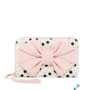 Betsey Johnson wristlet wallet NWT