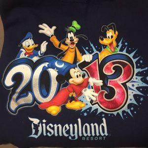 disneyland Sweaters - Disneyland 2013 Crewneck