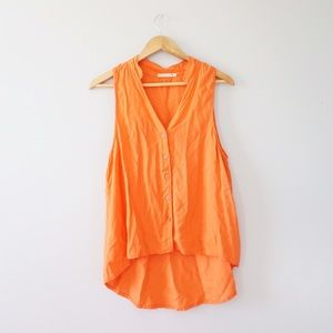 Alternative Tops - Alternative Orange Hi-lo Tank