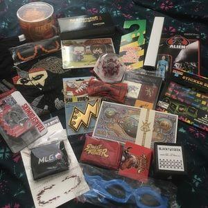 thinkgeek Other - bundle of various geeky lootcrate items