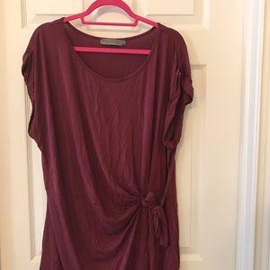 Pink Clove Tops - Pink clove 22 maroon tshirt