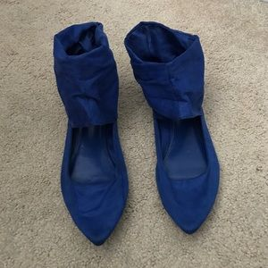 Call It Spring Shoes - Royal blue flats