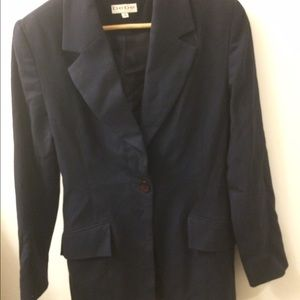 BEBE Jackets & Coats - Bebe Black 100% Wool Suit Jacket Size 8.