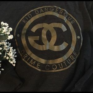 Kid Dangerous Sweaters - Kid Dangerous Grime Couture Lounge Pullover