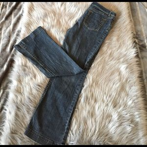 CAbi jeans size 8 contemporary fit.