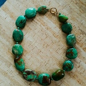DAY SALE TODAY!!!Green stone necklace