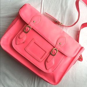 The Cambridge Satchel Company Handbags - Neon pink satchel