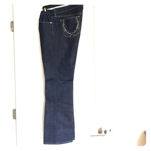 Old Navy Mid-Rise Boot Cut Stretch Denim