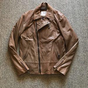 Hickey Freeman Other - Hickey Freeman leather motorcycle jacket