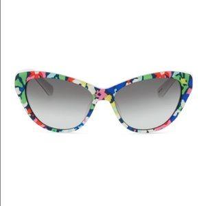 200194ef57582 kate spade Accessories - Kate Spade Della Floral Sunglasses