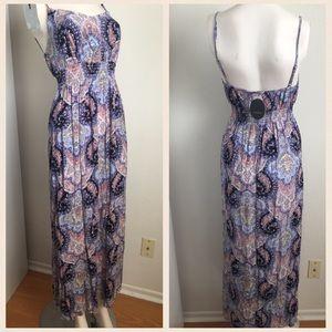 Cotton On Dresses & Skirts - Boho paisley maxi dress with side slit
